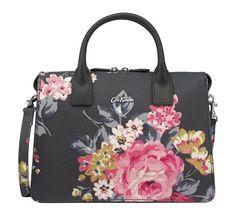 Cath Kidston Norfolk Rose embossed folio mini handbag