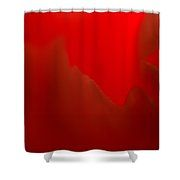 a Little Rough Around the Edges Shower Curtain by Marnie Patchett