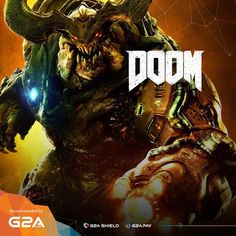 Knock down, slash, stomp, crush, and blow apart demons with today's Game of The Day: #Doom