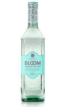 I want bloom gin Alcohol Bottles, Liquor Bottles, Best Gin Brands, Bloom Gin, Best Gin And Tonic, Premium Gin, Gin Tasting, London Dry Gin, Cocktail Drinks
