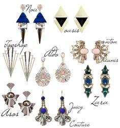 statement earrings - Google Search