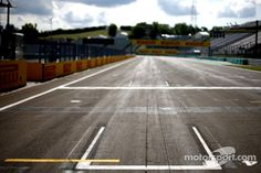 Grid position on track (Hungaroring 2014)