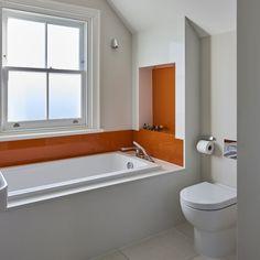 White glossy bathroo