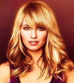 Dianna Agron Side Swept Bangs: Long and Thick