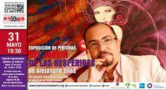 Del Jardín de las Hespérides exposición de pinturas de Alejando Elías
