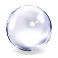 Transparent Glass Sphere - The Observation Deck