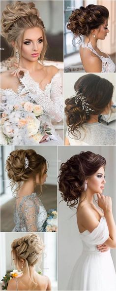 Coiffure De Mariage : Featured Hairstyle: Elstile; www.elstile.com/; Wedding hairstyle idea....
