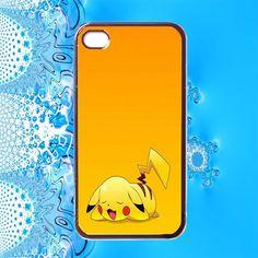 Cute Kawaii Pikachu Pokemon iPhone 4 Case / iPhone 4s / iPhone 4 Cover