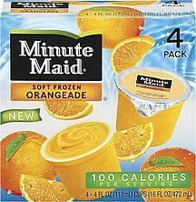 minuitemaid frozen fruit pops | Minute Maid Soft Frozen Nutrition Information | ShopWell