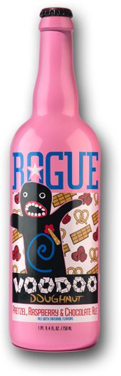 Voodoo Doughnut Pretzel, Raspberry & Chocolate Ale can't wait to try…big up to Jim Bruckner @ Rouge represent the Brewtown