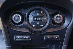 2014 Ford Fiesta ST Climate Controls