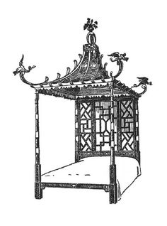 Pagoda Cabinet Th Century By Thomas Chippendale Son - Chinese chippendale bedroom furniture