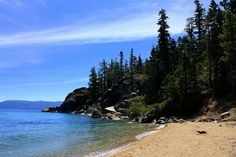 Calawee Cove Beach, D. L. Bliss State Park by Ray Bouknight, via Flickr