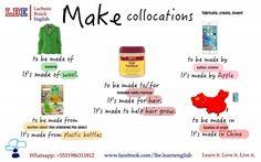Make Collocations