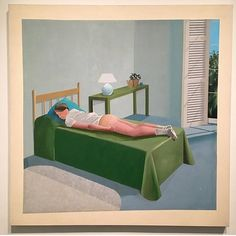 Post Thanksgiving mood! @saved_ny  A sneak peak of the David Hockney exposition @metbreuer . . . . . . . #inspiration  #painting  #hockey  #cashmere  #interiors  #design  #metbreuer  #exposition  #saved #newyork