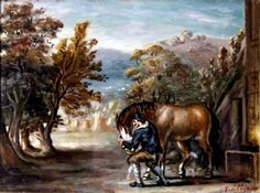 Giorgio de chirico Magazine Art, Art Market, Moose Art, Auction, History, Artist, Artwork, Painting, Animals