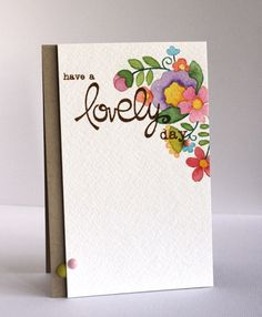 Card by SPARKS DT Alice Wertz PS stamp set: Blossoming Buds