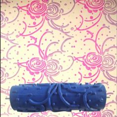 3D Rubber Wall Decorative Paint Roller, Best shopping experience, new products added everyday. For best shopping experience visit us, trainedtools.com Patterned Paint Rollers, Paypal Credit Card, Diy Supplies, Painting Tools, Designer Wallpaper, Pattern Wallpaper, Wall Design, Conception, Rose