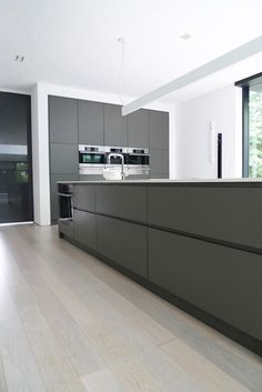 Modern Grey And White Kitchens less is more: 13 super modern kitchens | minimalist modern