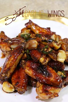 Hi guys! Today, I'm going to share the best of best sticky garlic wings!!! Isn't it sounds ready freaking delicious? Sticky! Garlic! Wings! Ah, it just stole my heart when I heard that name!  It is everything you want form the wings!  Sticky sauce, garlicky flavor, spiciness, um um um! You can make more spicy...Read More »