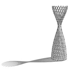 Parametric models by walaa khairy, via Behance
