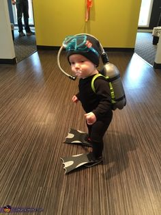 Littlest Scuba Diver - Baby Diver Costume | Step by Step Guide - Photo 2/3