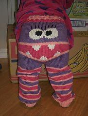 Ravelry: Monster longies (Monsterbukse) pattern by Kristine Jorskogen