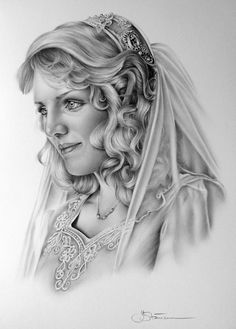 Bridal Commission by *IleanaHunter