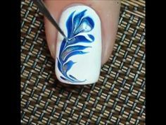 Whoa..amazing marble nail art!! ❤ - YouTube