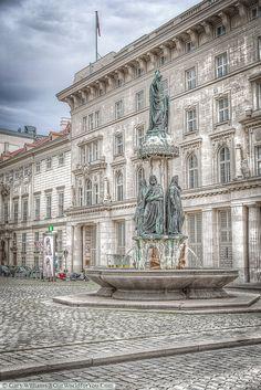 Austria Fountain or Austriabrunnen, Vienna, Austria