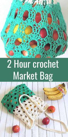 Bag Crochet, Crochet Market Bag, Crochet Gratis, Cute Crochet, Crochet Purses, Small Crochet Gifts, Craft Patterns, Knitting Patterns, Crochet Accessories Free Pattern
