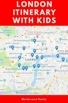 The Perfect 5 or 7 day London England UK itinerary with kids. London itinerary with kids. London with kids itinerary. Europe Destinations, Europe Travel Guide, Travel With Kids, Family Travel, Group Travel, Family Vacations, Travel Advice, Travel Tips, Travel Packing