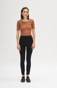 Geo Skinny Ankle - Velvet Well Made Clothes