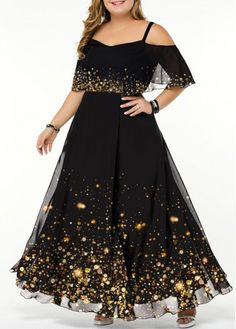 Plus Size Dresses Plus Size Printed Strappy Cold Shoulder Dress Plus Size Dresses, Dresses For Sale, Plus Size Outfits, Dresses Online, Shirred Dress, Belted Dress, The Dress, Spandex Dress, Trendy Clothes For Women