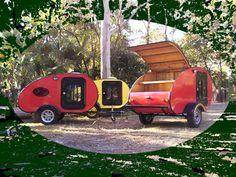 This camper http://www.trikesaustralia.com