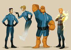 Claire_Hummel Fantastic Four Redesign