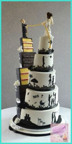 Wedding Cakes - Why Are Cupcake Wedding Cakes So Popular? -- Continue with the details at the image link. #WeddingCakes