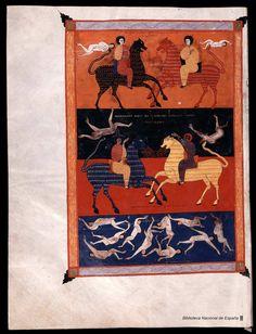 Beato de Liébana. Beato de Liébana , Santo — Manuscrito — 1047 349
