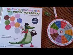 El emocionómetro del Inspector Drilo es un precioso libro para que los peques puedan identificar y regular sus emociones. Preschool, Children, Books, Html, Feelings, Children's Books, Open Frame, Assertiveness, Social Skills