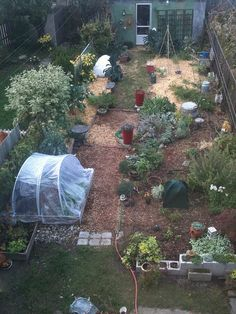 Big garden, small space