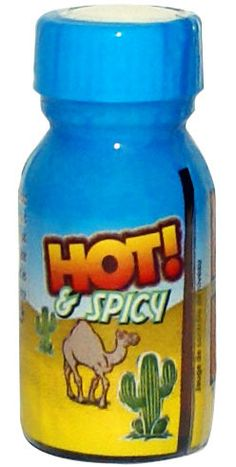 Poppers Hot and Spicy nitrite d'Isopropyle - Articles érotiques/Poppers et arômes - Maxim'Hom