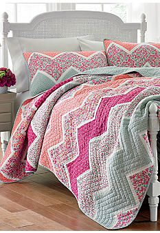 Laura Ashley Ainsley Quilt Collection - Belk.com #Belk #bedding