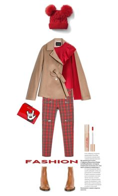 """""""Untitled #1874"""" by vinograd24 ❤ liked on Polyvore featuring Dries Van Noten, Dsquared2, Max&Co., MANGO and Gap"""