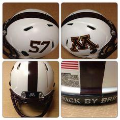 Gopher Bowl game helmet