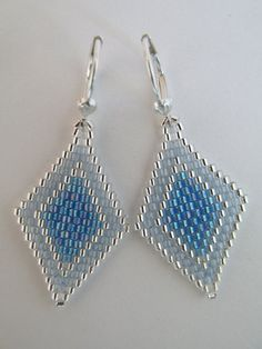 Hey, I found this really awesome Etsy listing at https://www.etsy.com/ca/listing/476885175/seed-bead-earrings-light-sapphire-blue