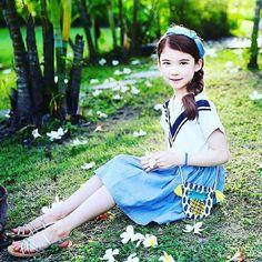 Image de child, fashion, and girl