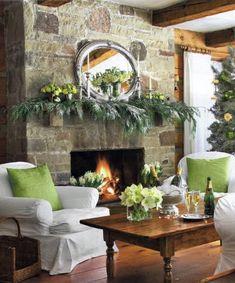 Preppy Empty Nester: Fabulous Festive Firesides- Take two