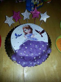 Torta princesita sofia!