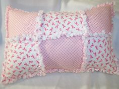 breast cancer awareness pillow