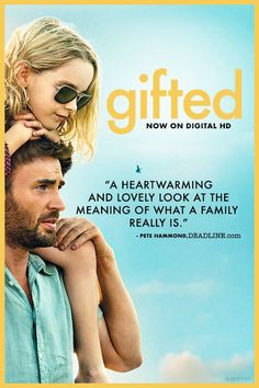 Chris Evans and Mckenna Grace star in the uplifting and feel-good movie of the summer Gifted. Now on Digital HD.